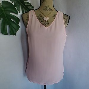 Tommy Bahama Pink Silk Tank Blouse Top